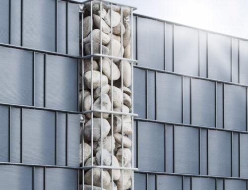 Gabionen-Säulen